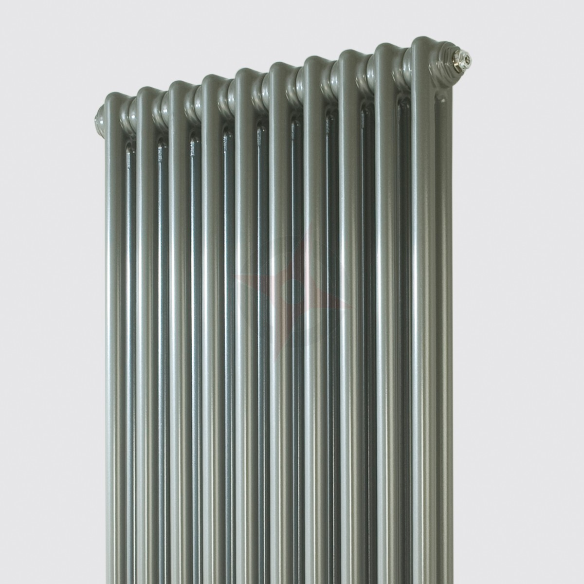 Revive 900h X 490w 2 Column Vertical Grey Aluminium