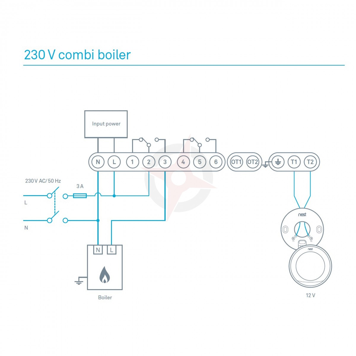 Wiring Diagram For Nest Thermostat 3Rd Generation from www.compass-plumbing.co.uk