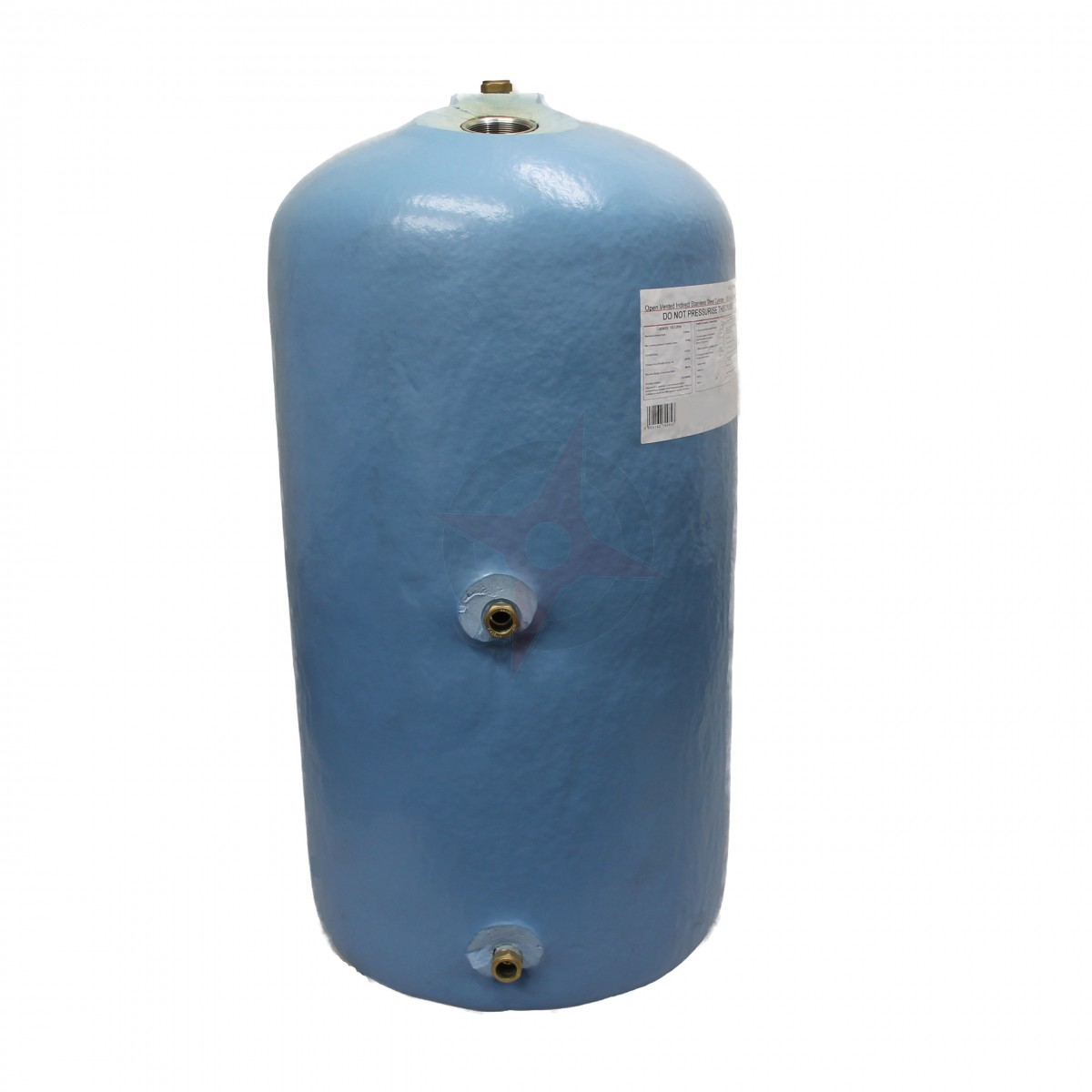 Indirect 935 x 400 Stainless Steel Vented Cylinder - Compass ...