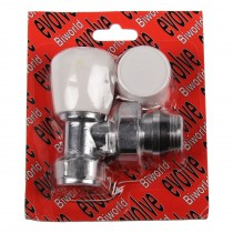 Evolve Double Packing Gland O-Ring Tail 15mm Angled Wheel Head Valve