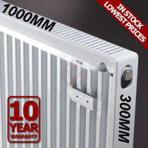 Revive 300h x 1000l Single Premium Radiator (K1)