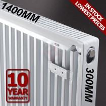 Revive 300h x 1400l Single Premium Radiator (K1)