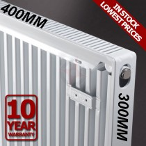 Revive 300h x 400l Single Premium Radiator (K1)