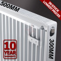 Revive 300h x 500l Single Premium Radiator (K1)
