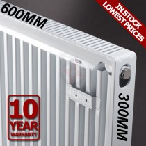 Revive 300h x 600l Single Premium Radiator (K1)