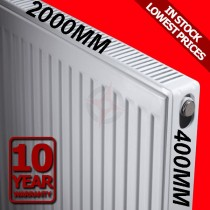 Revive 400h x 2000l Double Premium Radiator (P+)
