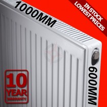 Revive 600h x 1000l Double Premium Radiator (P+)