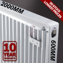 Revive 600h x 2000l Single Premium Radiator (K1)