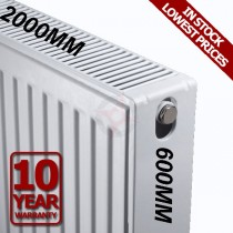 Revive 600h x 2000l Double DELUXE radiator (K2)
