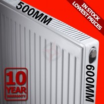Revive 600h x 500l Double Premium Radiator (P+)