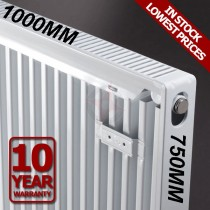 Revive 750h x 1000l Single Premium Radiator (K1)