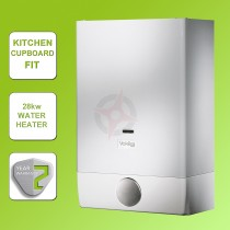 Vokera Easi-Flo Plus 28kw Natural Gas Water Heater & Flue