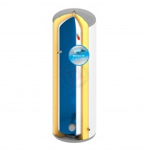 everflo Stainless 90L Direct Unvented Hot Water Storage Cylinder & Kit
