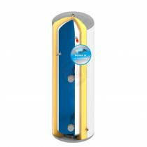everflo Stainless 180L Direct Unvented Hot Water Storage Cylinder & Kit