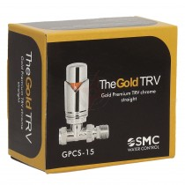 Gold Premium 15mm Straight Full Chrome TRV
