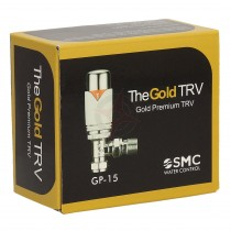 Gold Premium 15mm Angled Chrome/White TRV
