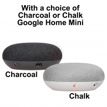 Google Nest Thermostat E and Google Home Mini, Smart Home Bundle