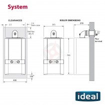Ideal Independent 15 (ErP) System Boiler Only