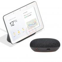 Google Nest Hub and Google Home Mini Bundle