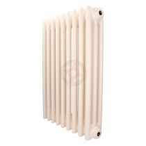 600H x 1686W 3 Column Horizontal Cream Radiator