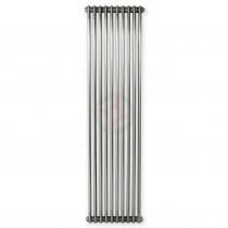 1800H x 490W 3 Column Vertical Raw Metal Lacquered Radiator