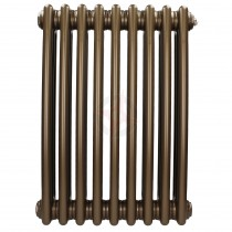 600H x 628W 3 Column Horizontal Retro Bronze Radiator