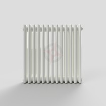 600H x 628W 3 Column Horizontal White Radiator
