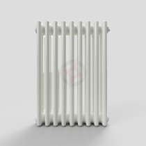 600H x 444W 3 Column Horizontal White Radiator
