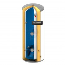 uvgold2 400L Indirect Unvented Hot Water Storage Cylinder & Kit
