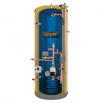 uvgold2 210L Pre-Plumbed Unvented Hot Water Storage Cylinder