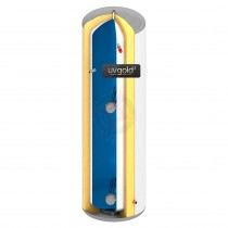 uvgold2 180L Slim-Fit Direct Unvented Hot Water Storage Cylinder & Kit