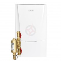 Ideal Vogue Max 18 System Boiler, Filter, Horizontal Flue & System Ready Cylinder