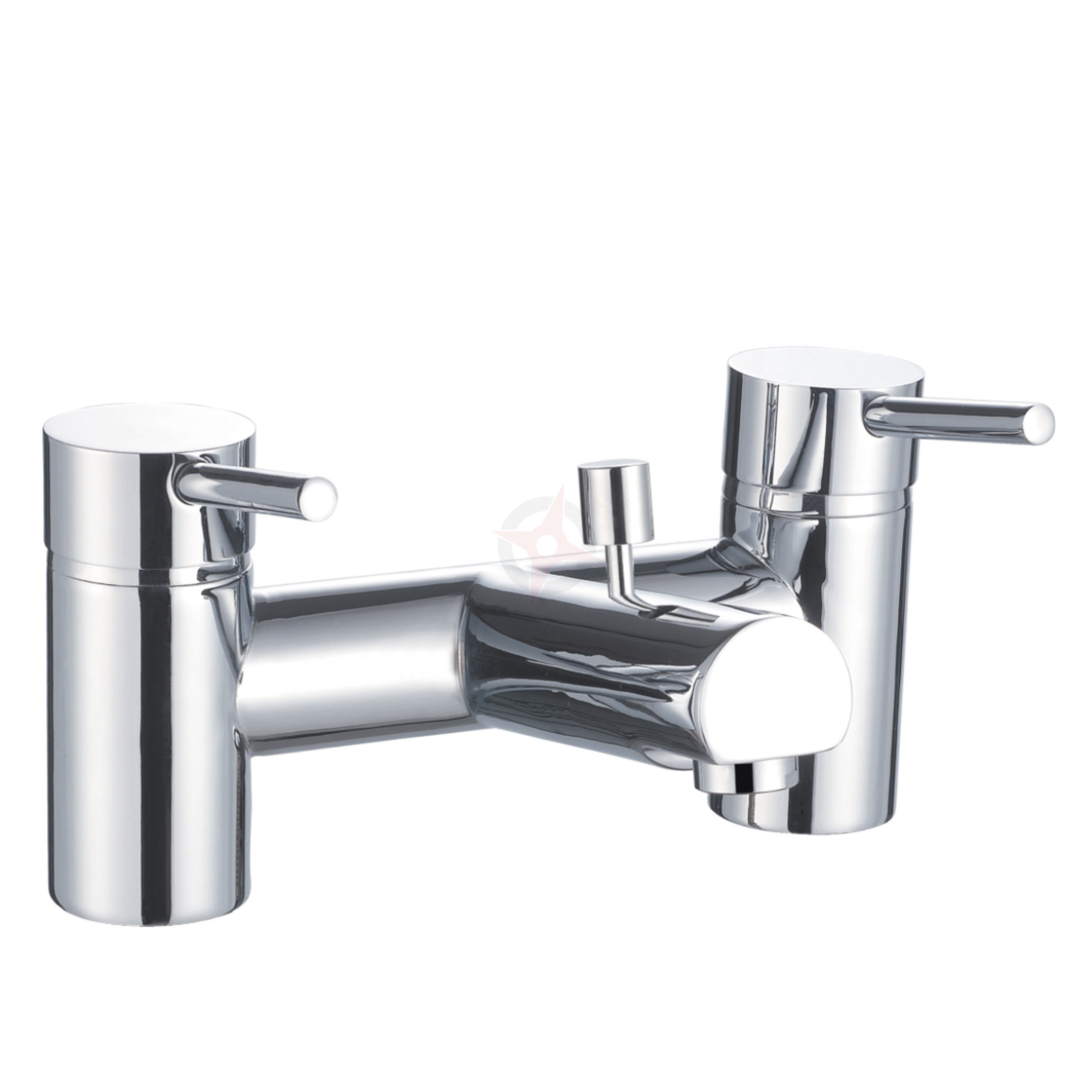 Lavata Contemporary Bath Shower Mixer c/w Shower Kit