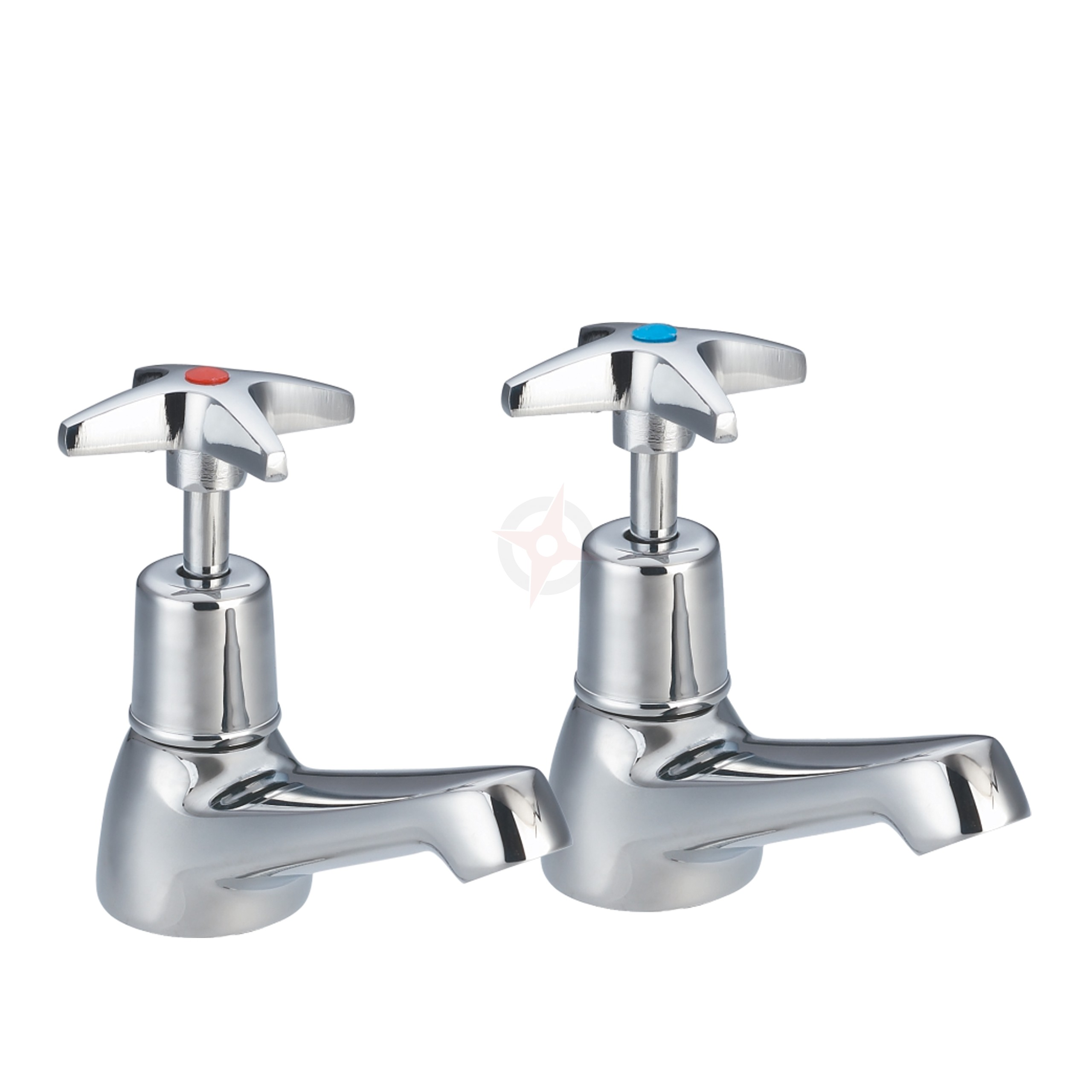 Lavata Cross Head Basin Taps (Pair)