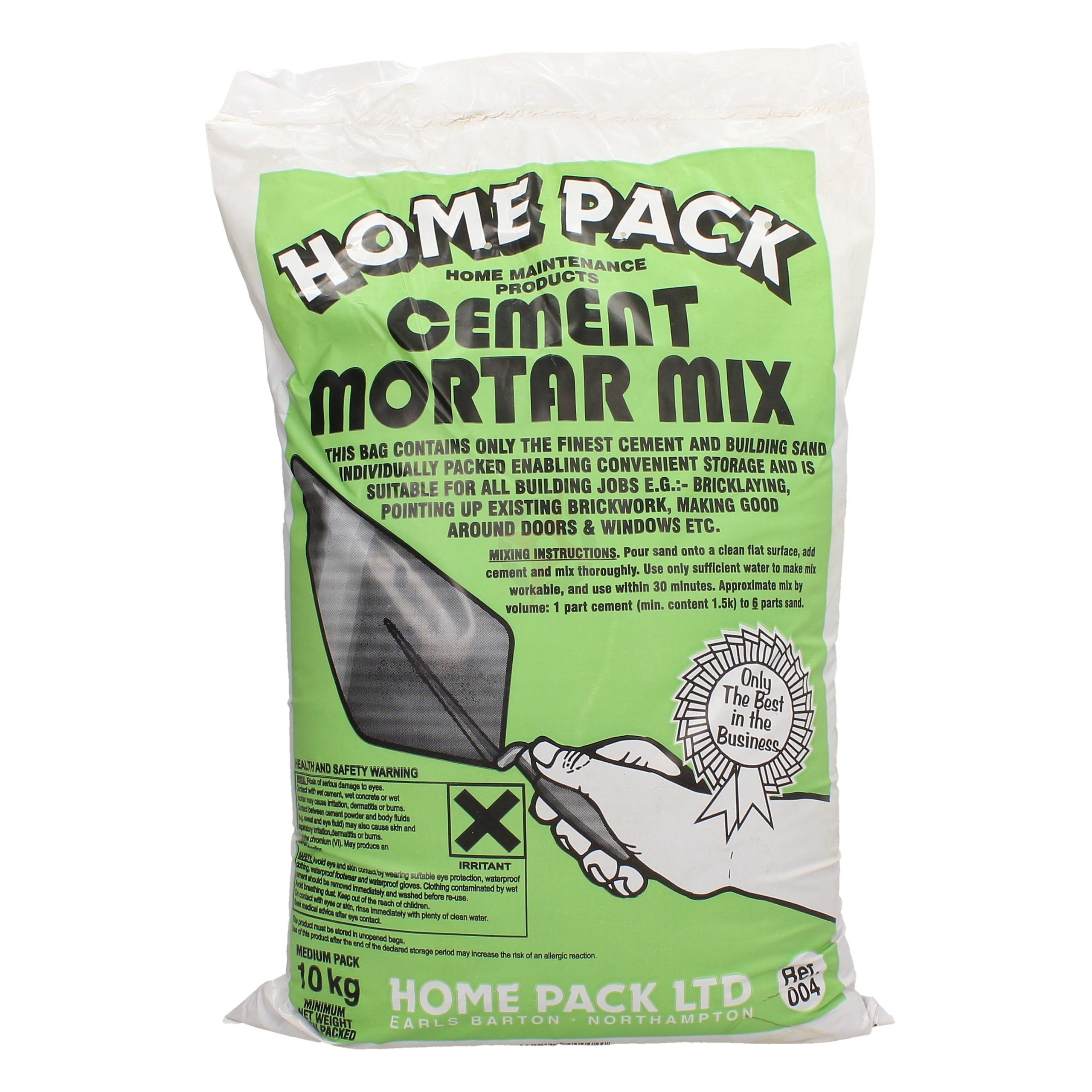 Home Pack 10kg Cement Mortar Mix