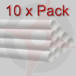 Bulk 36mm x 3 Metre White Solvent Waste Pipe (x10 Lengths)