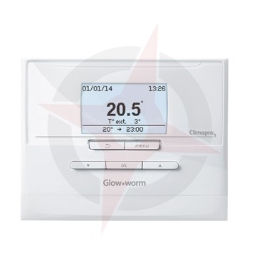 Glow-worm Climapro1 RF Programable Wireless Room Thermostat