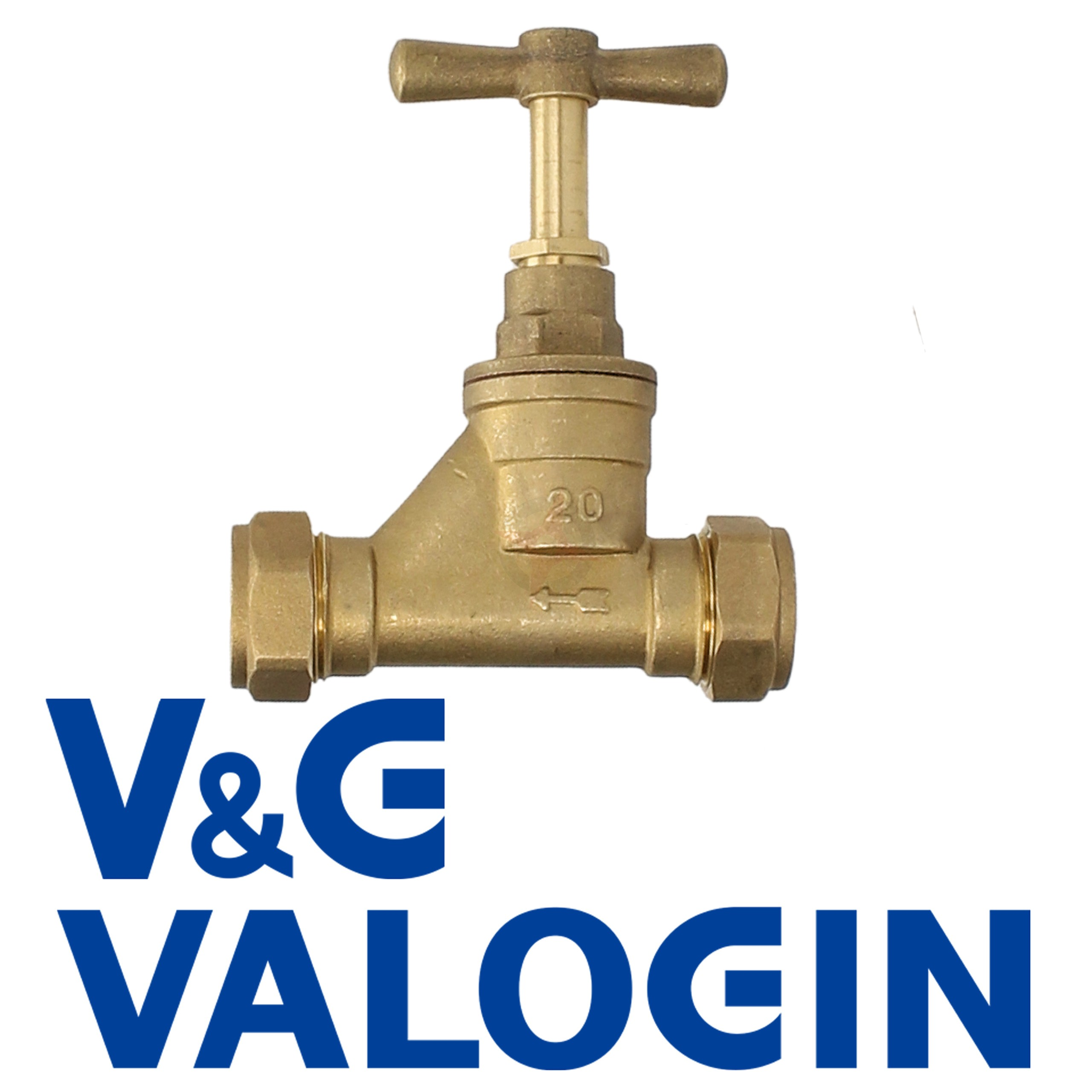 V&G 20mm Compression Stopcock (Poly x Poly)