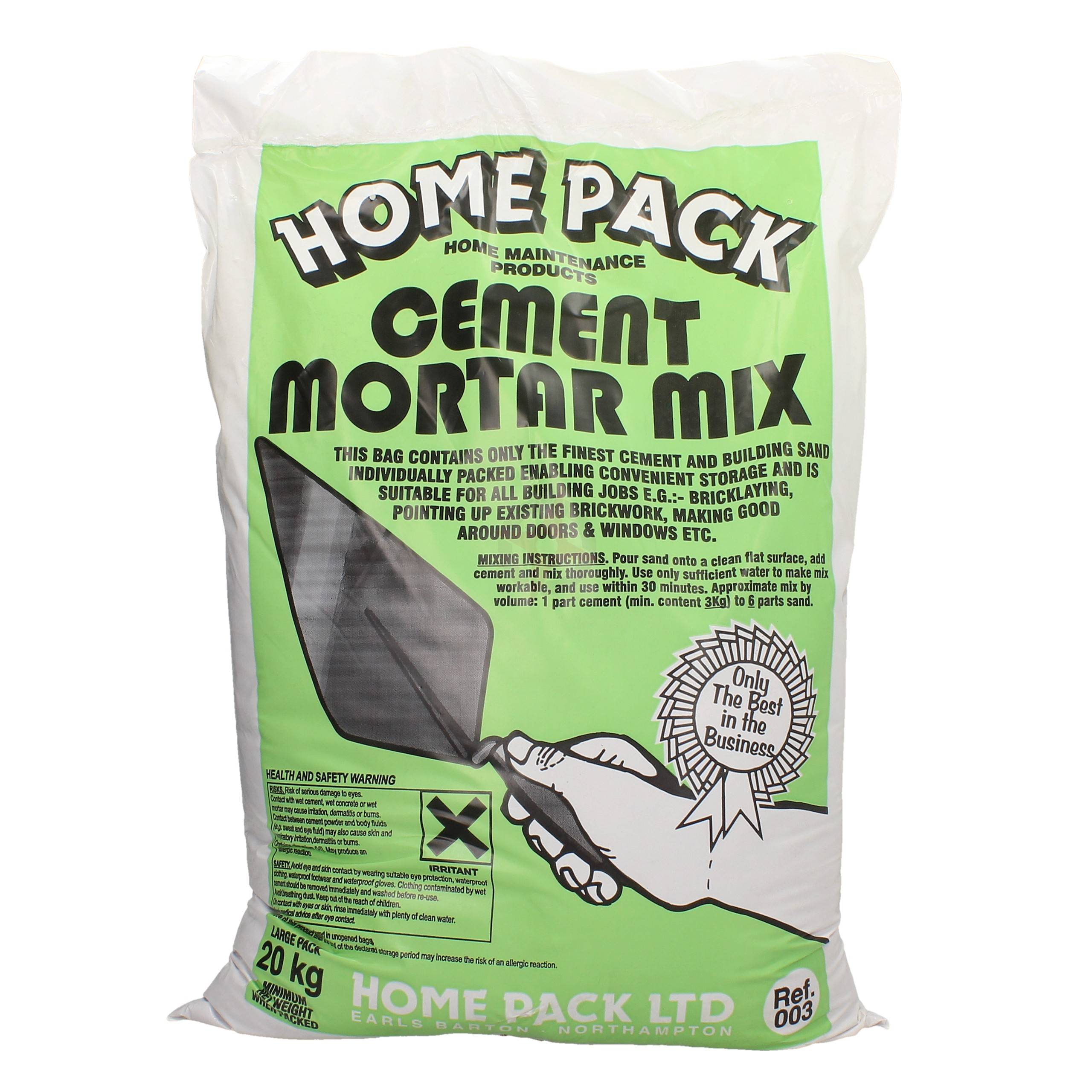 Home Pack 20kg Cement Mortar Mix