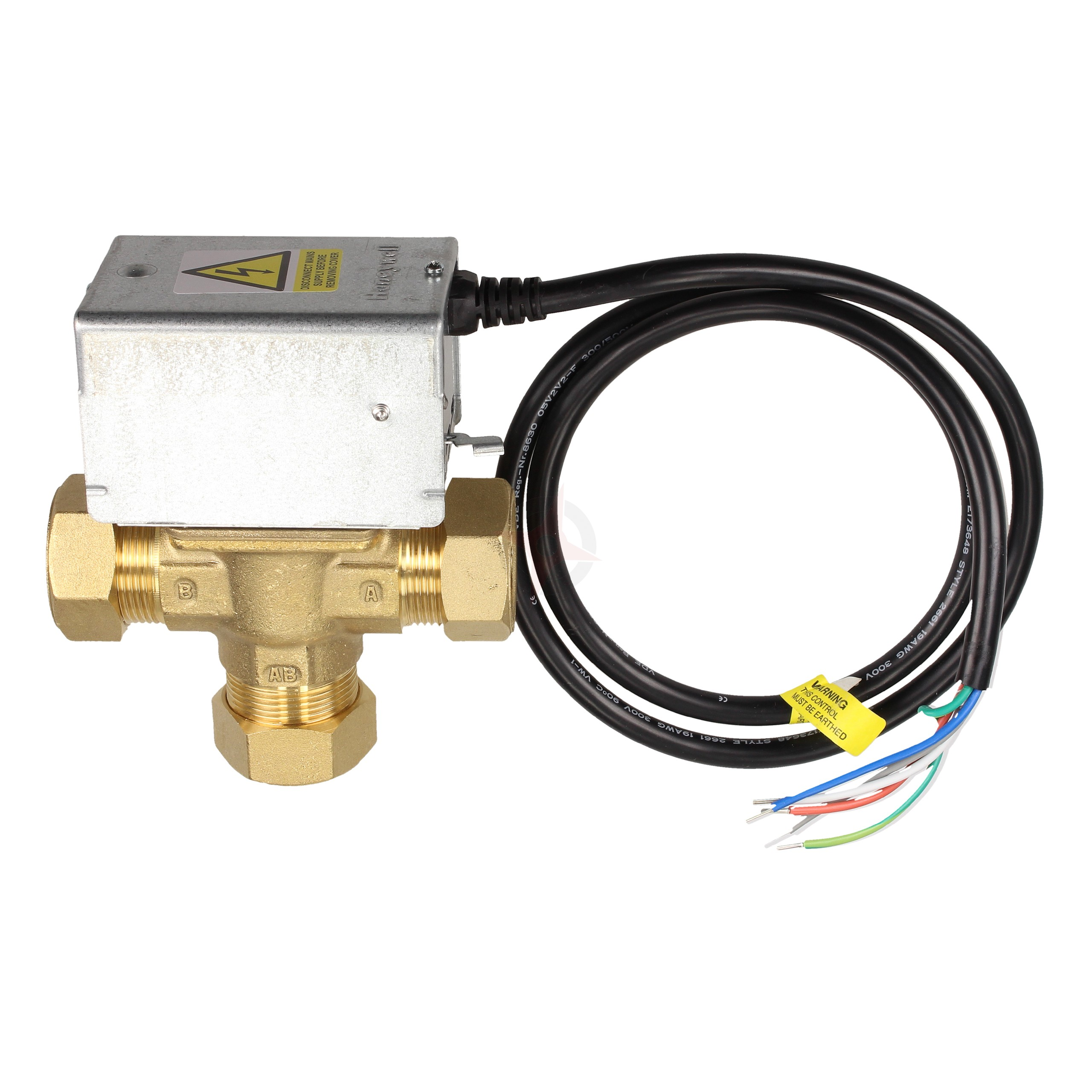 Honeywell 28mm Motorised 3 Port Mid-Position Valve