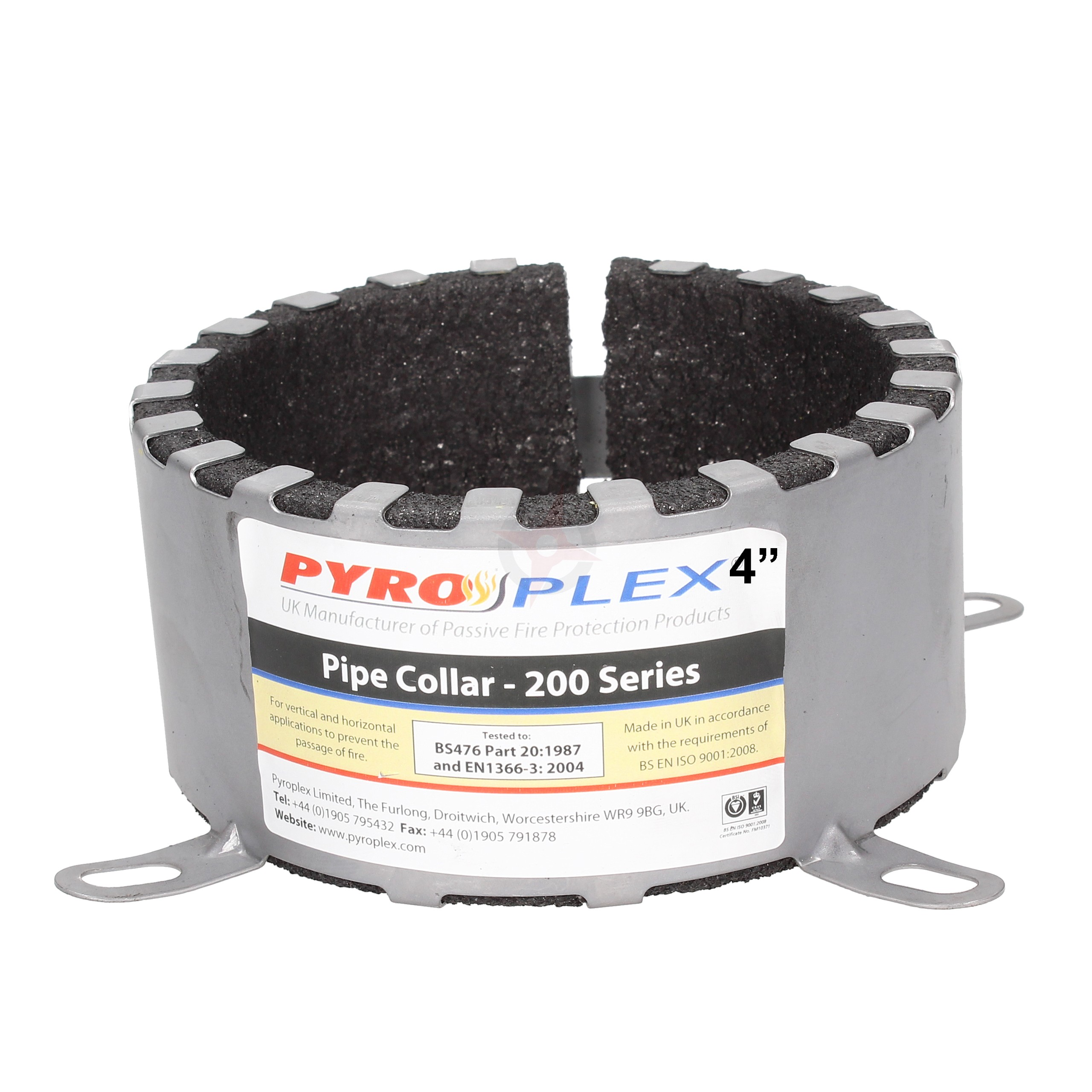 "Pyroplex 200 Series 4"" Fire Collar"