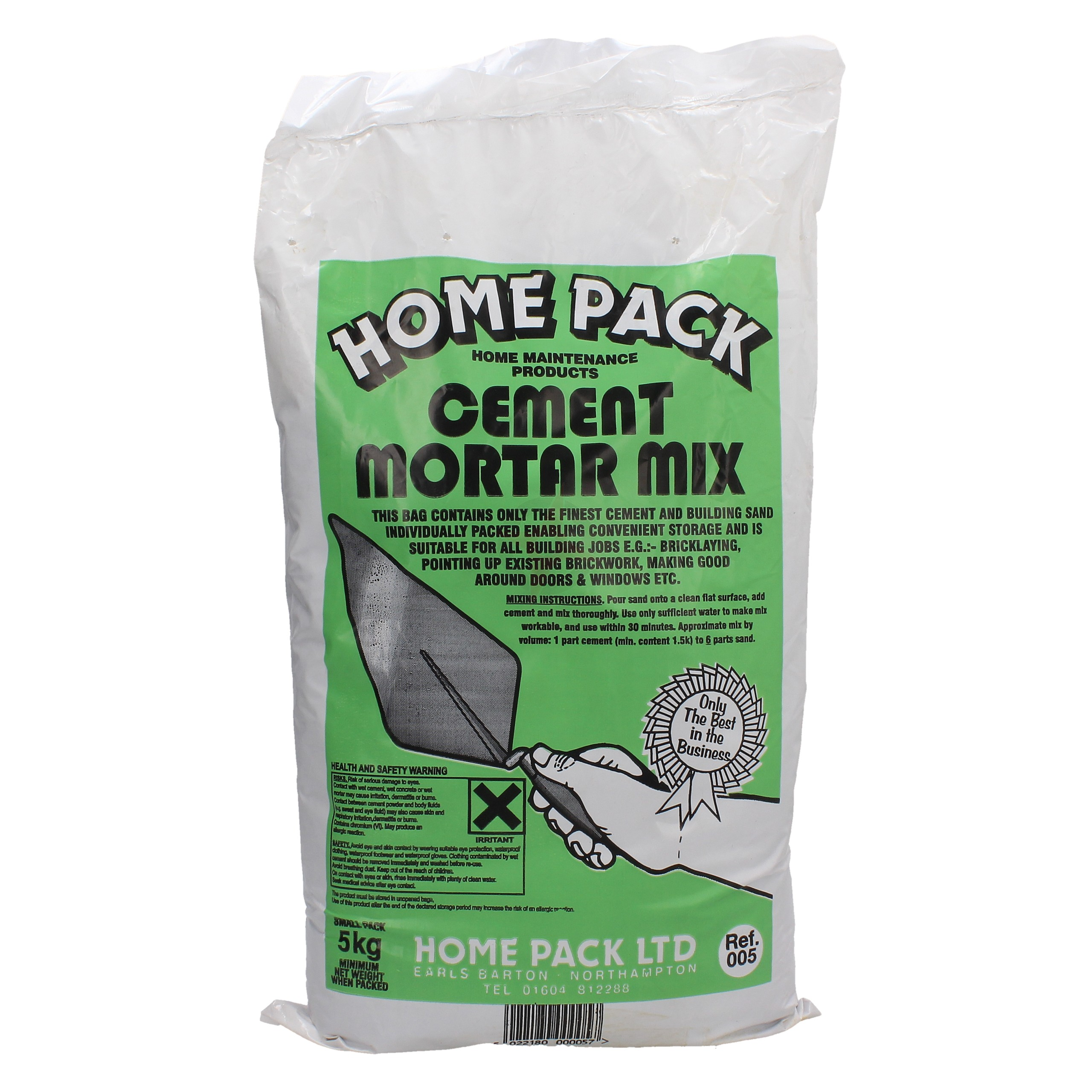 Home Pack 5kg Cement Mortar Mix