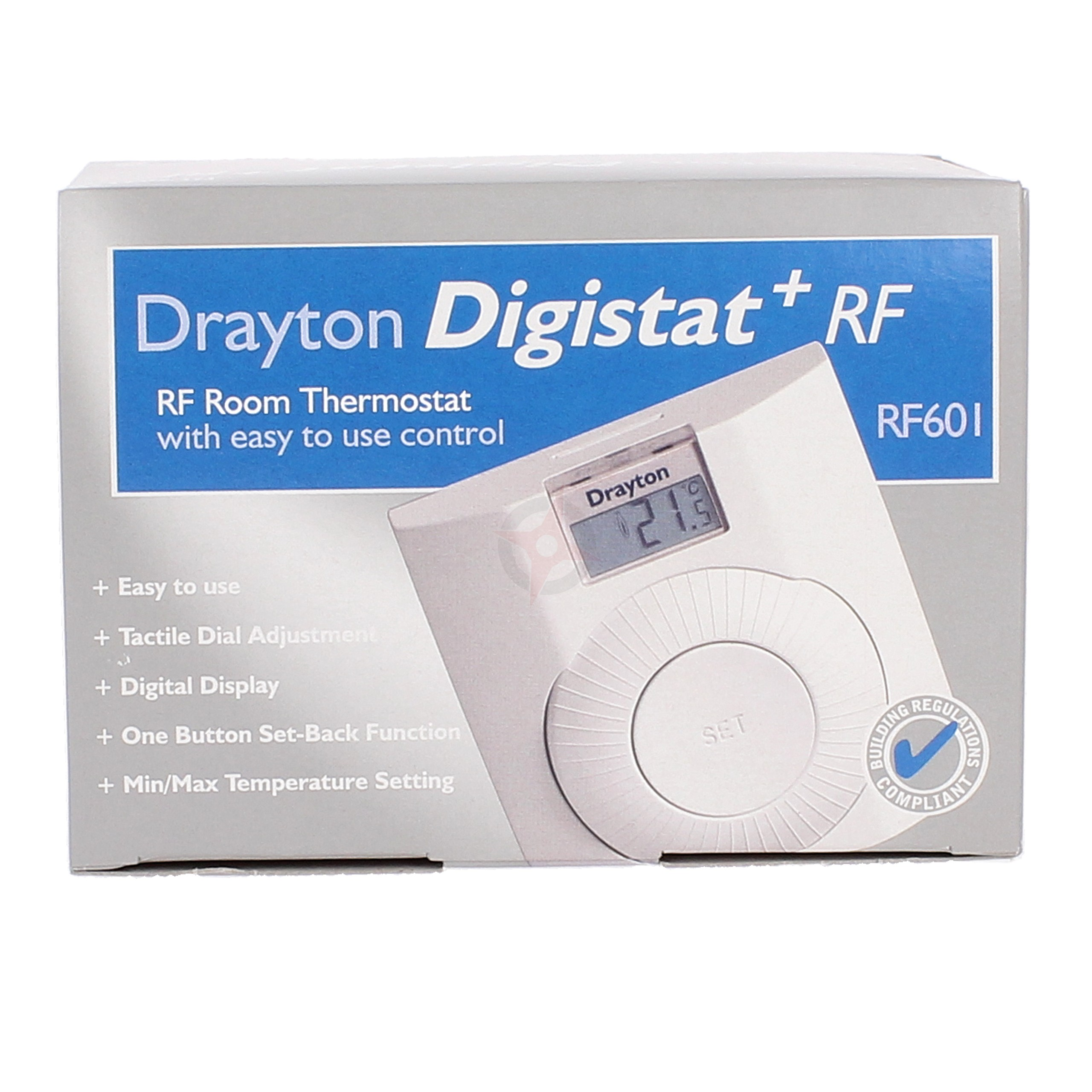 Drayton Radio Frequency Room Thermostat Digistat+ RF