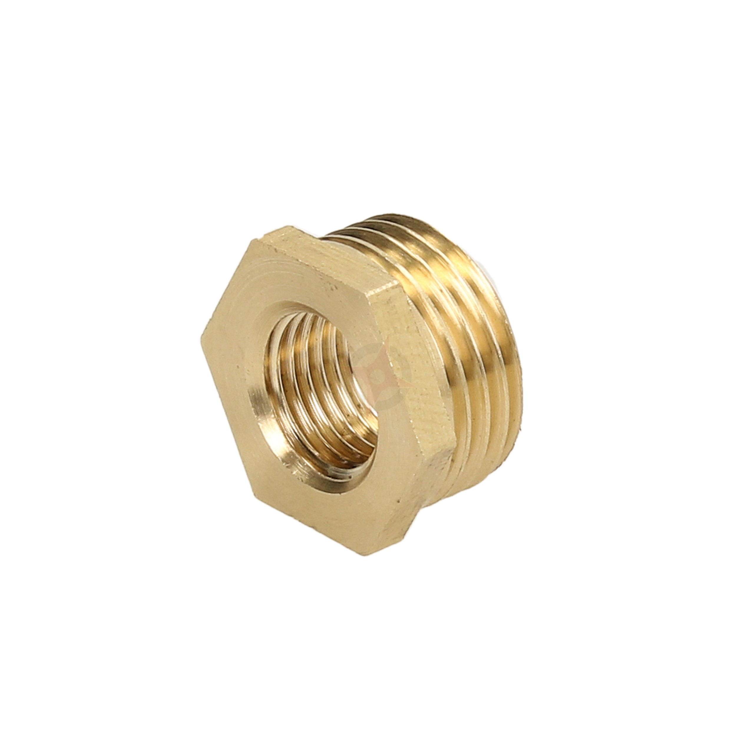 "Brass 1/2"" x 1/4"" Reducing Bush"