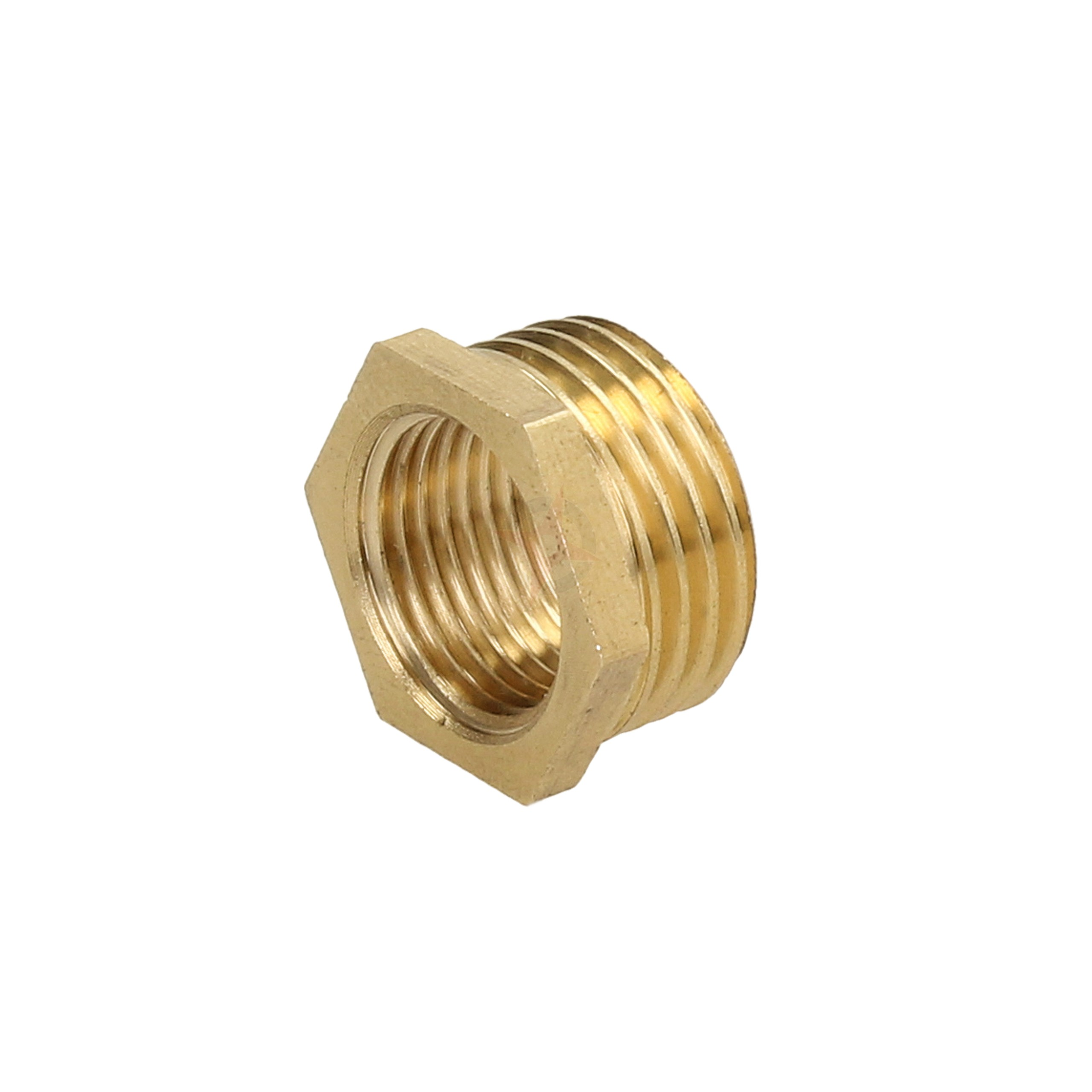 "Brass 1/2"" x 3/8"" Reducing Bush"