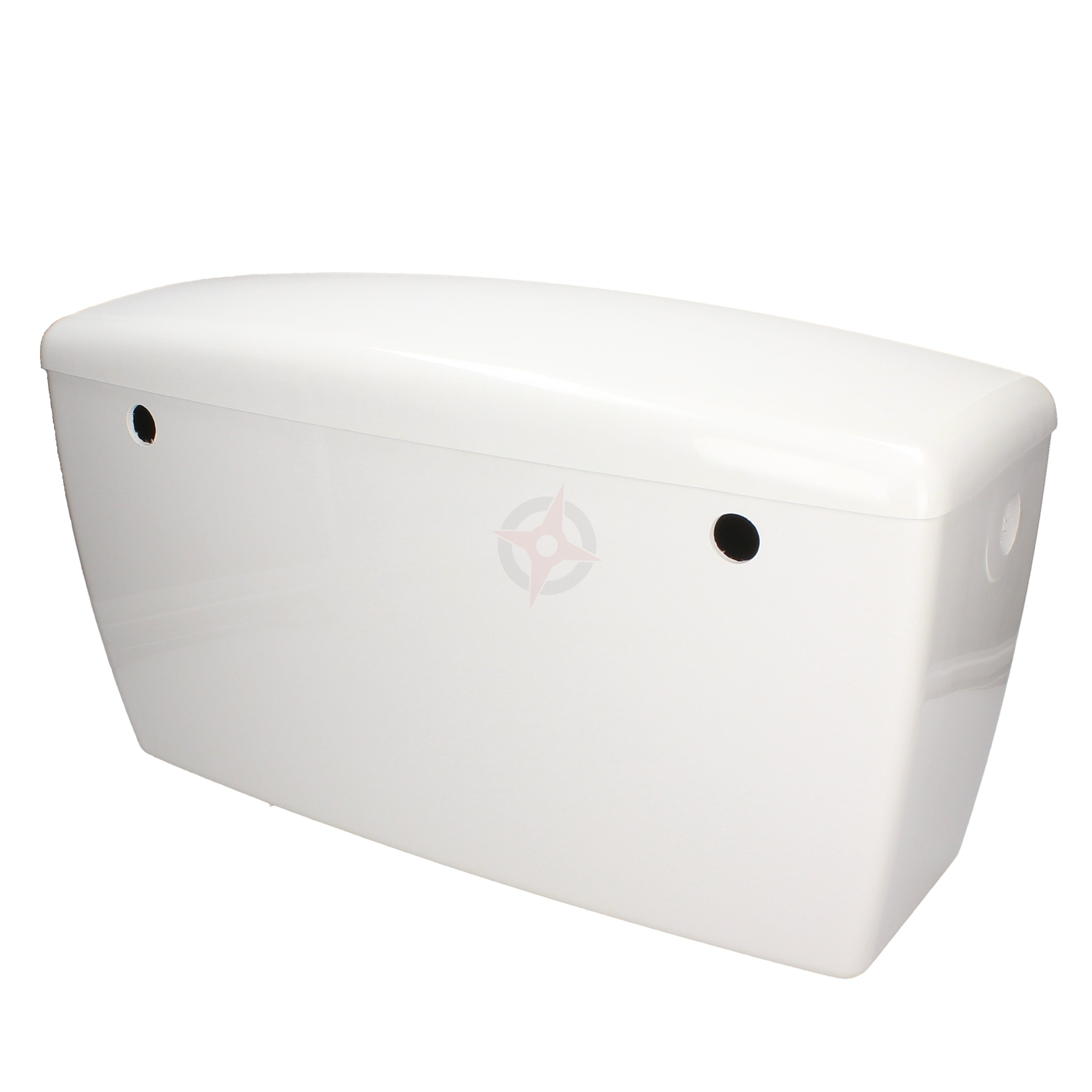 Rhino White Low Level Side Entry Plastic Cistern c/w Lever