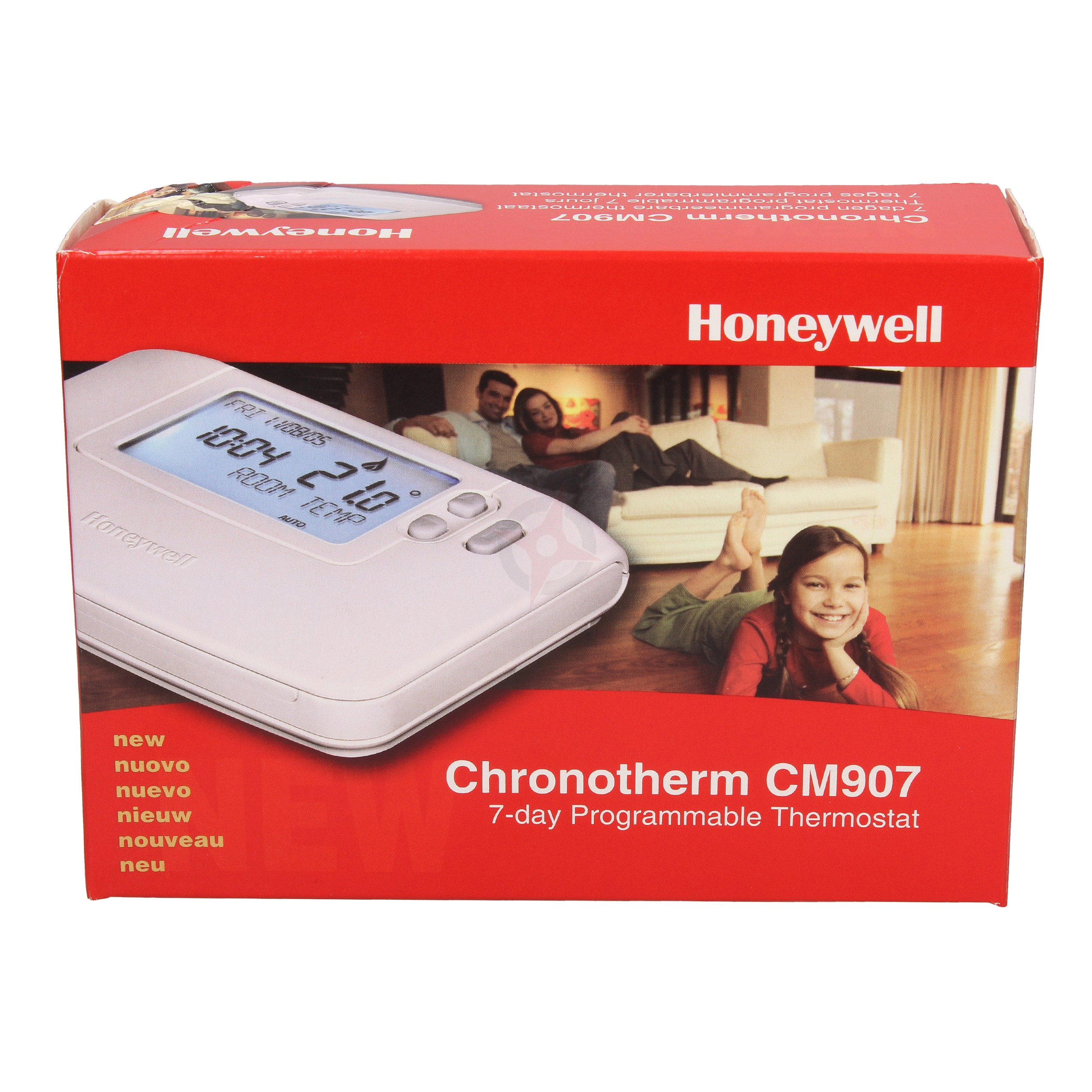Honeywell 7 Day Programmable Thermostat CM907