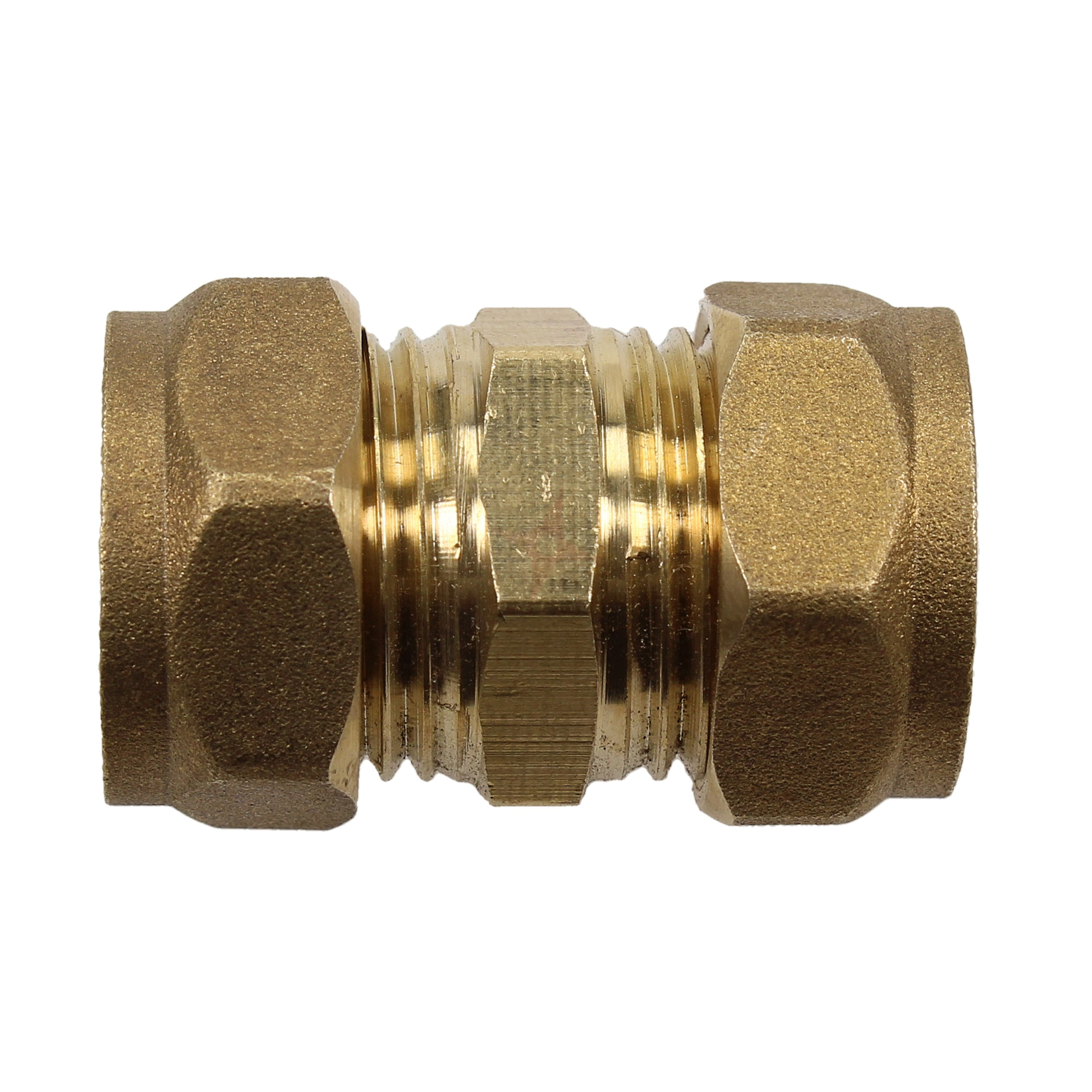 Compression 15mm Straight Coupler