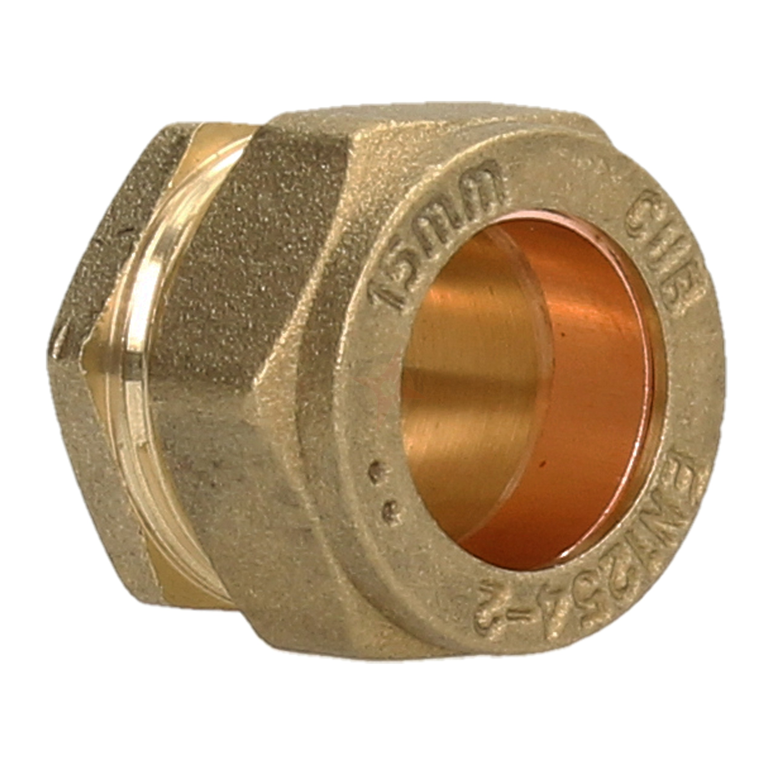 Compression 15mm Stop End