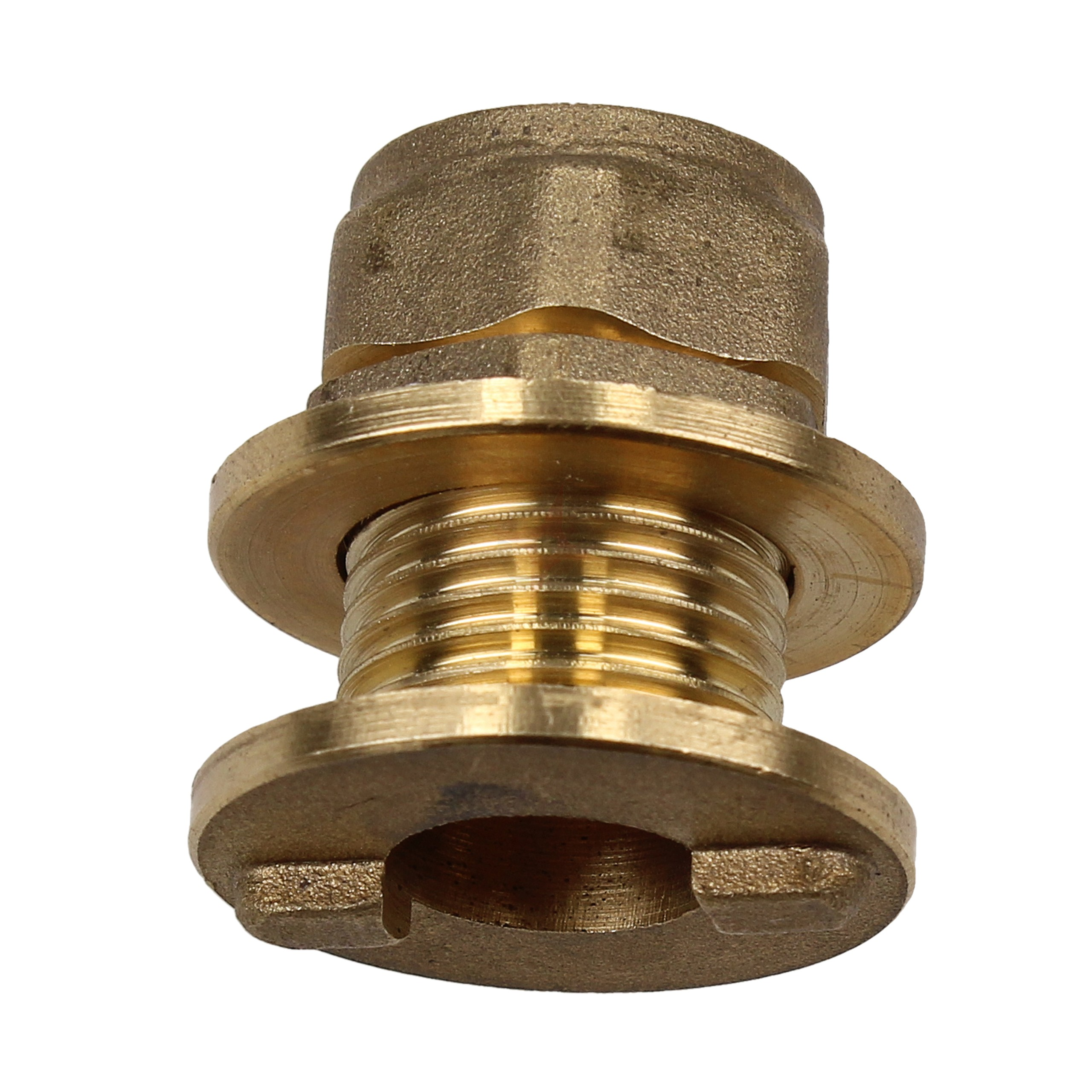 Compression 15mm Tank Connector
